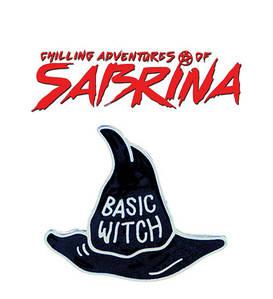 Брошь пин значок шляпа ведьмы Леденящие душу приключения Сабрины