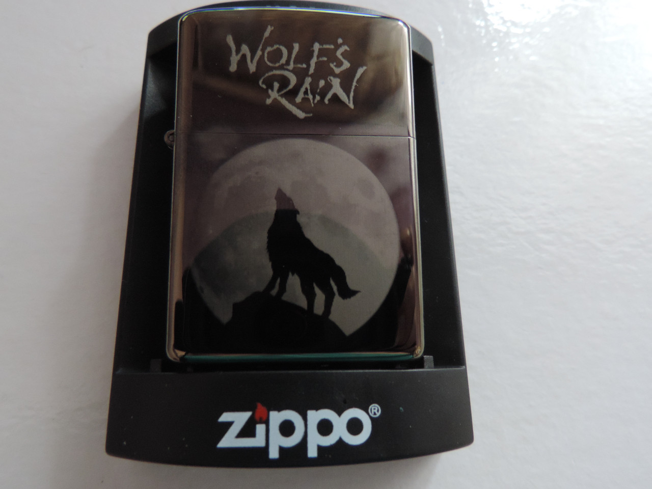 """Зажигалка Zippo - """"Wolf's Rain"""" копия"""