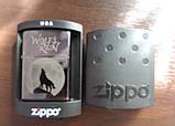 "Зажигалка Zippo - ""Wolf's Rain"" копия , фото 4"