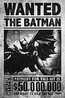 """Постер / Плакат """"Бэтмен (Wanted)"""""""
