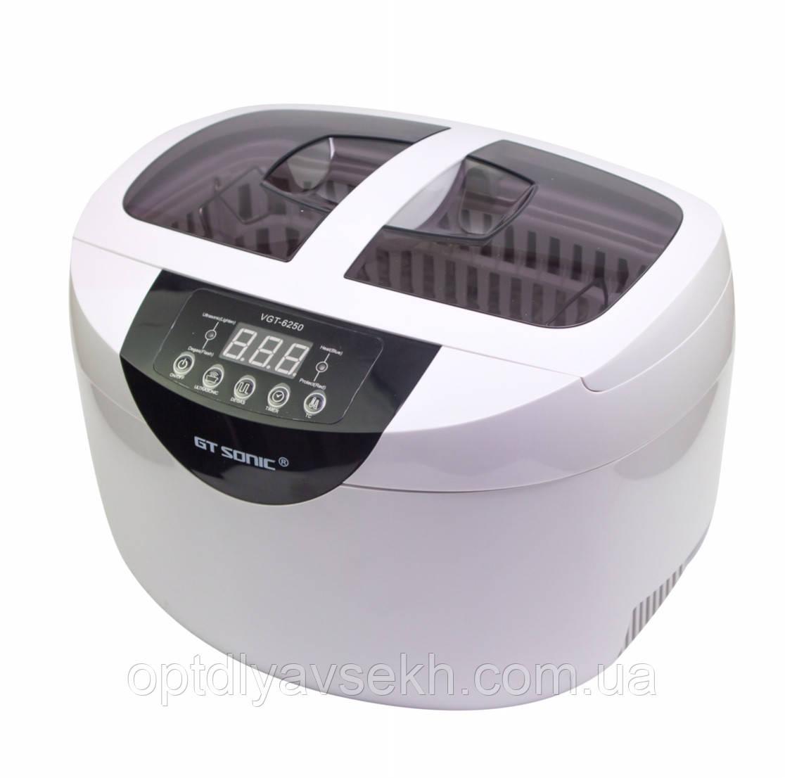 Ванна ультразвуковая VGT-6250, 2,5 л., 65 Вт.