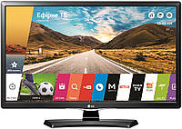 Монитор телевизор smart tv LG 24MT49S-PZ black. ЛЖ телевизор со встроенным цифровым тюнером т-2, s-2.
