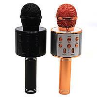 Микрофон-колонка bluetooth WS-858 - 2 цвета