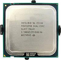 Процессор Intel Pentium Dual-Core E5200 2.50GHz/2M/800 (SLAY7) s775, tray