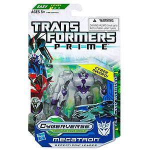 "Робот-десептикон Мегатрон ""Трансформери Прайм"" - Megatron, Transformers Prime, Cyberverse, Commander, Hasbro"