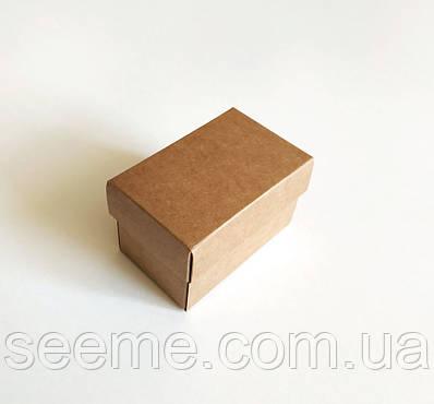 Коробка из крафт картона для macarons 55х90х55 мм.