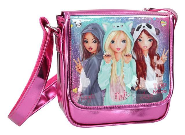 ТОР-Model Меленькая сумочка Friends ( Топ-модел Сумочка Друзья, малиновый металик )