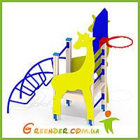 Детская горка Жираф A57 игровые площадки уличные для дошкольников