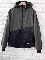 Куртка-ветровка мужская на флисе (1003/4)