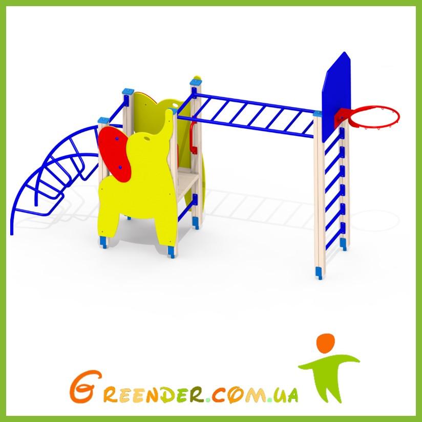 Детская горка Слоненок A56 игровые комплексы уличные