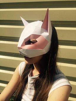 Papercraft Маска кошки