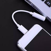 Аудио переходник USB Type C - mini jack 3,5 mm для смартфонов LeEco, Xiaomi 6, Mi6, Huawei P20., фото 3