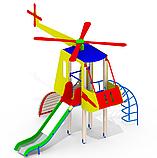 Детская горка Вертолет Mи8 игровой спорт комплекс для игор, фото 2
