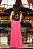 Платье с декором | Кассандра без шлейфа lzn, фото 5