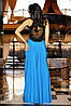 Платье с декором | Кассандра без шлейфа lzn, фото 6