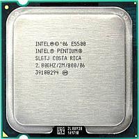 Процессор Intel Pentium Dual-Core E5500 2.80GHz/2M/800 (SLGTJ) s775, tray