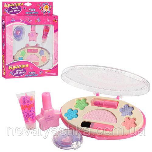 Косметика детская игрушечная Набор Косметики: тени лак помада блеск набір косметики, 2057 005086