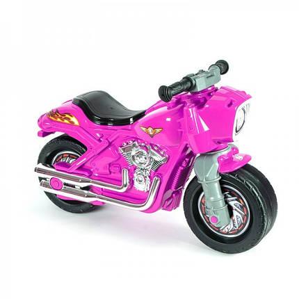 Детский мотобайк Орион 504 розовий, фото 2