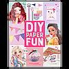 ТОP-Model  Набір для творчості з паперу  ( Depesche TOP Model DIY Paper Fun Book - 8575_A), фото 10