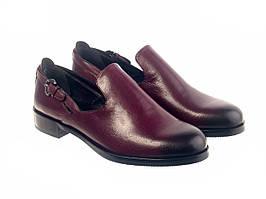 Туфлі Etor 6263-7972 бордо