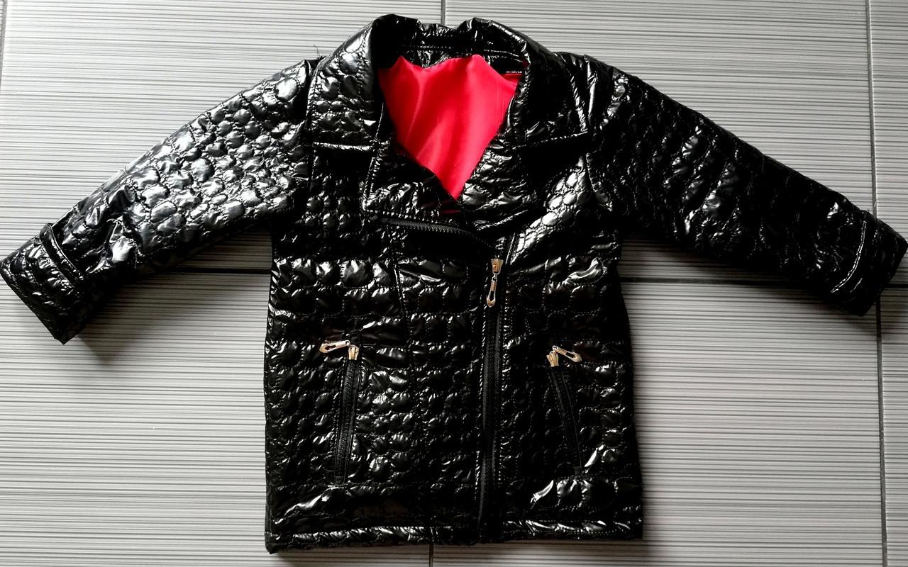 Демисезонная детская куртка Модница косуха