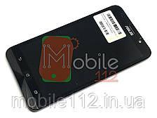 Модульный дисплей для Asus ZenFone 2 (ZE551ML, Z00AD) Экран + тачскрин, чёрный с передней панелью ориг PRC