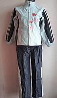 Спортивный костюм плащевка девочке 9-11 лет, фото 1