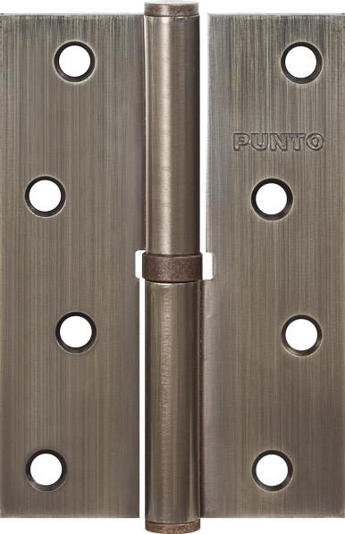 Петля съемная Punto (Пунто) 113-4 100*70*2.5 AB left (бронза) левая