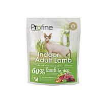 Сухой корм Profine Cat Indoor Adult Lamb & Rice 34/13 (с ягненком и рисом для кошек живущих в помещении) 0.3 кг