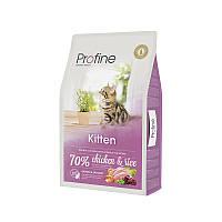 Сухой корм Profine Cat Kitten Chicken & Rice 37/19 (с курицей и рисом для котят от 1 до 12 мес.) 10 кг