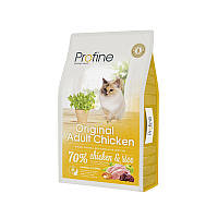 Сухой корм Profine Cat Original Chicken & Rice 34/15 (с курицей и рисом для котов и кошек всех пород) 10 кг