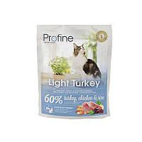 Сухой корм Profine Cat Light Turkey, Chicken & Rice 36/10 (с индейкой, курицей и рисом для котов и кошек с 0.3