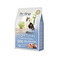 """Сухой корм Profine """"Light Turkey, Chicken & Rice"""" 36/10 (с индейкой, курицей и рисом для котов и кошек с избыточным весом) 2 кг"""