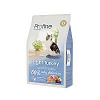 """Сухой корм Profine """"Light Turkey, Chicken & Rice"""" 36/10 (с индейкой, курицей и рисом для котов и кошек с избыточным весом) 10 кг"""