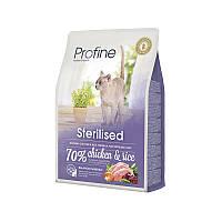 Сухой корм Profine Cat Sterilised Chicken & Rice 36/10 (с курицей и рисом для стерилизованных кошек и 2