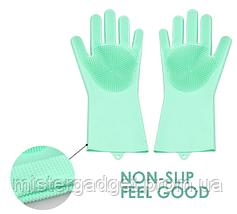 Рукавиці для миття посуду Better Glove силіконові, фото 2