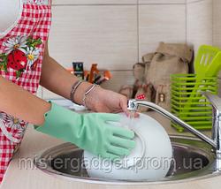 Рукавиці для миття посуду Better Glove силіконові, фото 3