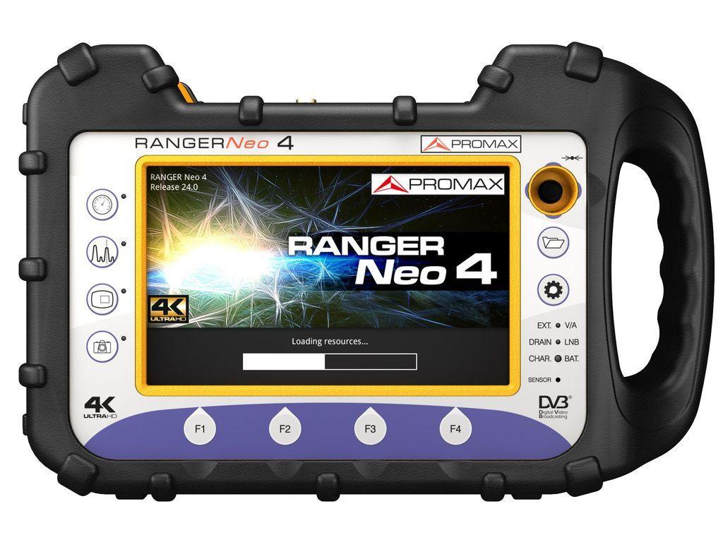 Полевой измерительный прибор высшего класса с 4K декодером Promax RANGER Neo 4