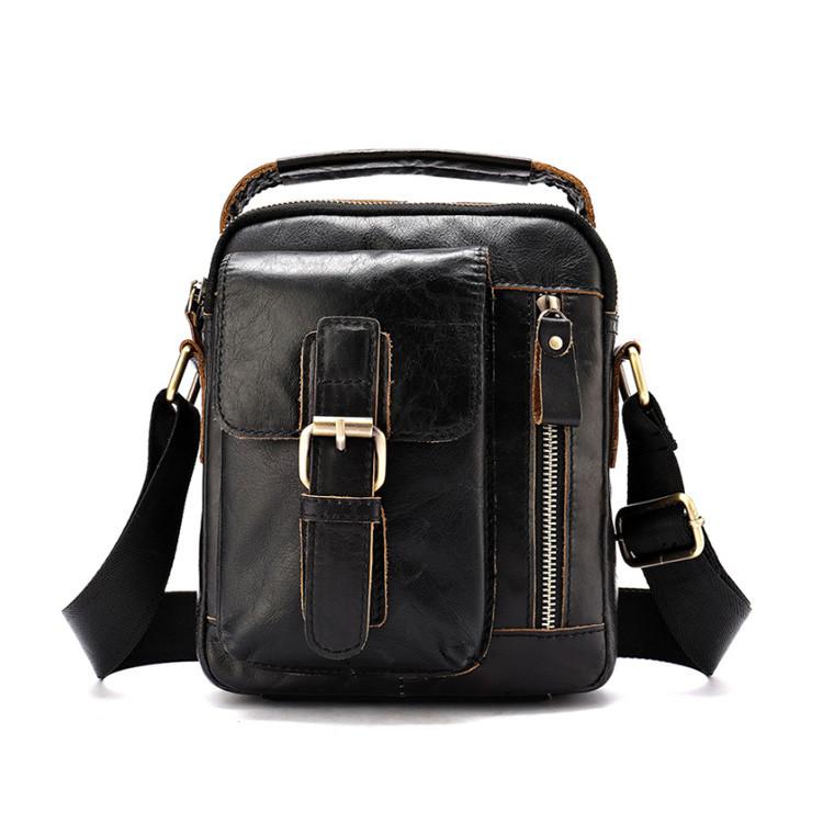 Кожаная сумка на плечо Marrant