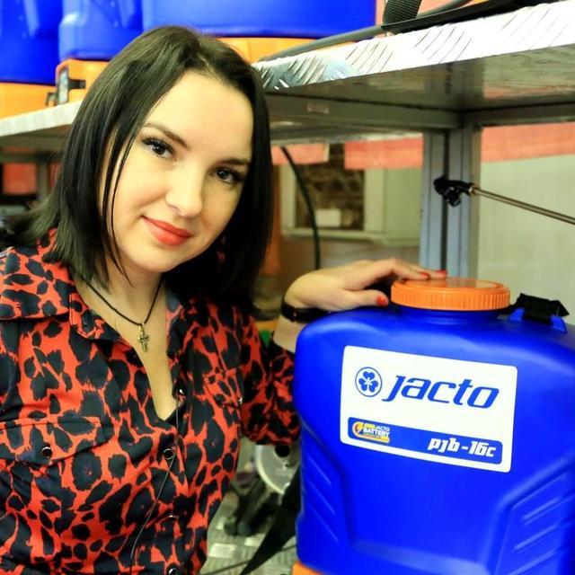 опрыскиватель Jacto PJB-16