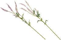 """Искусственные цветы """"Астильбы"""" ветвь декоративная 81см, 2 вида - нежно-розовый, лавандовый, набор 12 шт"""