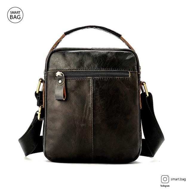 Кожаная сумка на плечо Marrant | черная