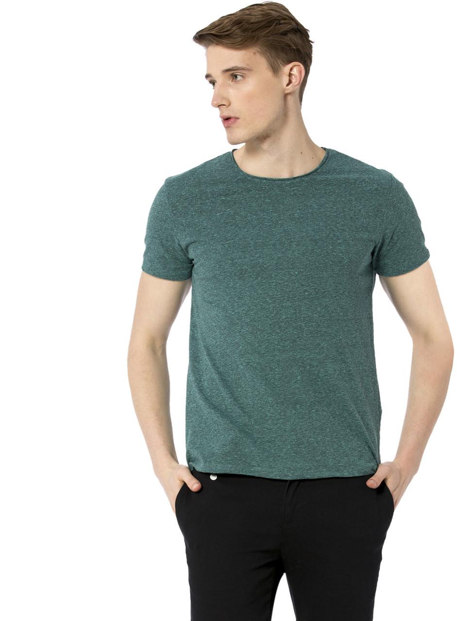 Зеленая мужская футболка Lc Waikiki / Лс Вайкики