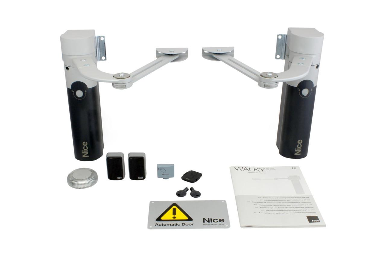 NICE WALKY 2024 KCE — автоматика для распашных ворот (створка до 1.8 м)