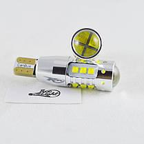Светодиодная авто лампа  SLP LED с цоколем T10 (W5W) Cree 80W Canbus 9-30V Белый, фото 3