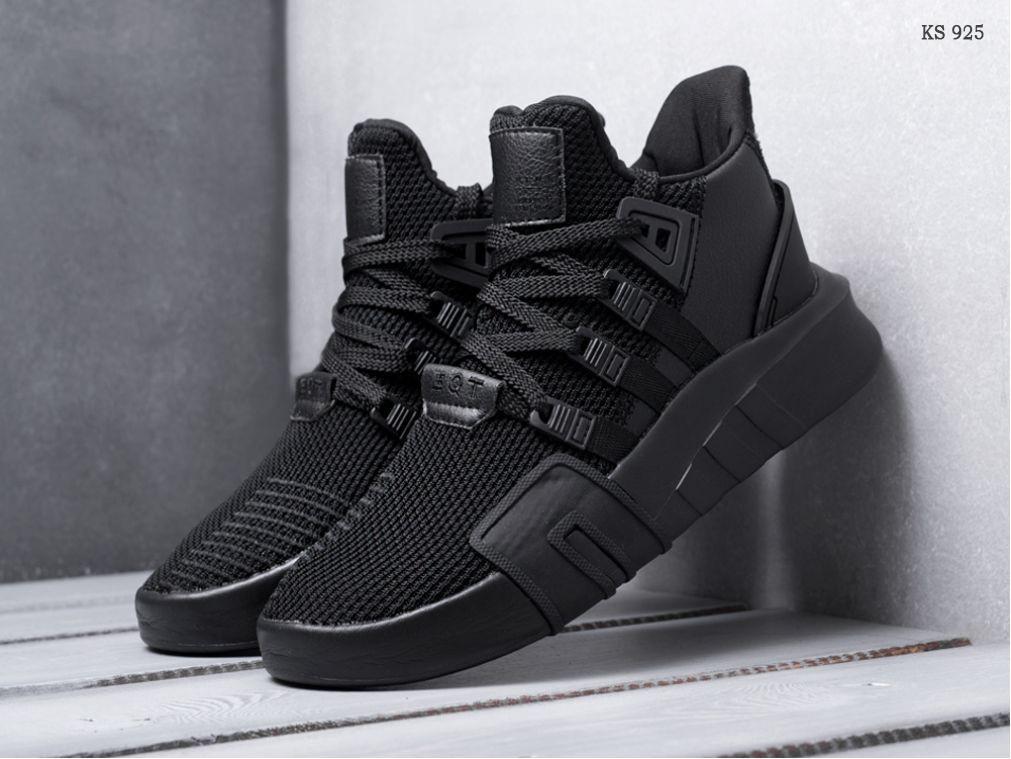 Кроссовки Adidas EQT Bask ADV (черные)