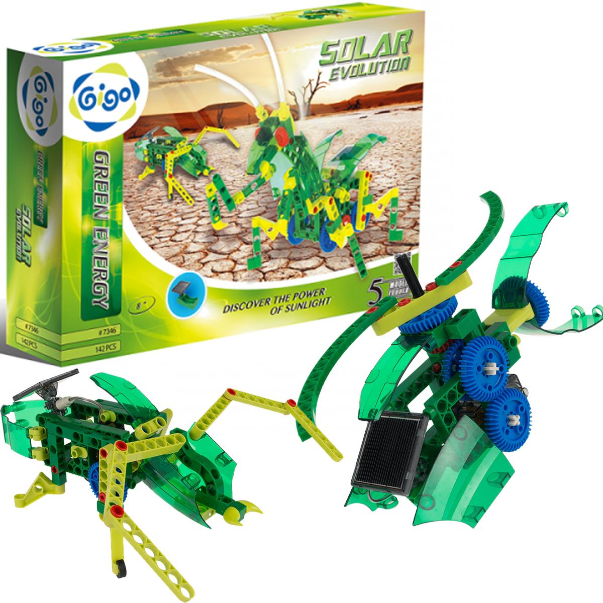 Детский конструктор 5 в 1 Gigo Солнечная энергия (7346)