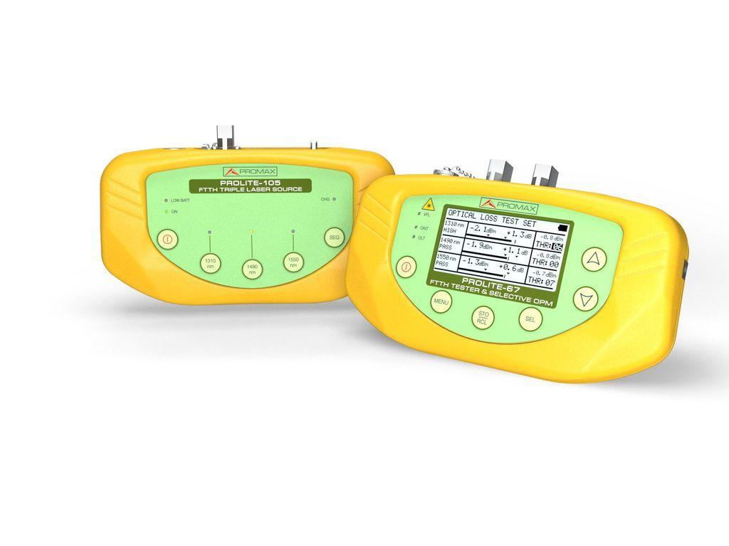 Базовой измерительный комплект для волоконной оптики promax PL-675