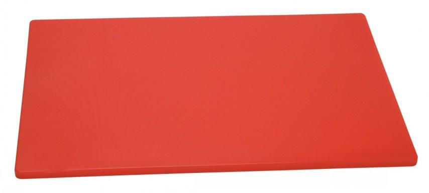 Профессиональная разделочная доска Красная 45*30*2 б/у