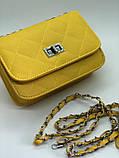 Яркая новая желтая сумка, фото 2